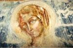 Santa Lucia, Arcangelo di Cola(?), affresco, cripta della chiesa plebale