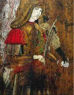 Angelo musicante, Venanzo da Camerino, tavola