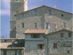 Il centro storico di Pievebovigliana