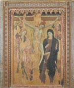 Crocifissione, Cola di Pietra, tavola