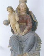 Madonna di Costantinopoli (sec.XVI), scuola umbra, scultura